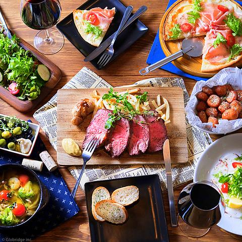 肉とチーズが絶品の飯田橋の人気バル♪貸切や女子会、誕生日などにもピッタリです☆