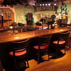 音楽好きの方にオススメ!ステージ目の前のテーブル席は、迫力満点のライブをお楽しみいただける特等席をご用意しております。丸型のテーブルのため、ご友人との会話も弾み、音楽を楽しみながら素敵な時間をお過ごしいただけます♪