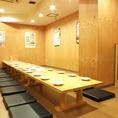20名様個室の写真です。こちらのお部屋も広々使って頂けます。
