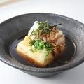 料理メニュー写真ふわとろ揚げ出し豆腐