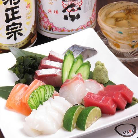 【飲み会・宴会に◎】新在家で海鮮料理とお酒を楽しめる!コース2480円~♪