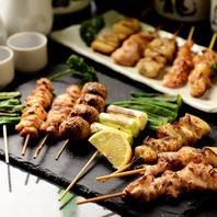 焼き鳥・鮮魚・肉寿司がリーズナブルに楽しめるお店♪