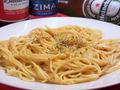 料理メニュー写真明太クリームスパゲッティ