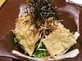 料理メニュー写真揚げ湯葉とゴボウのカリカリサラダ