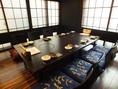 2F 完全個室8名座敷1卓ございます。※こちらはチャージ料お一人様500円いただいております。