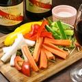 料理メニュー写真旨みたっぷり野菜のバーニャカウダ