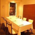 記念日やお誕生日、接待にも最適半個室。
