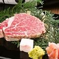 料理メニュー写真黒毛和牛特選フィレ肉
