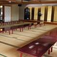 最大宴会150人可能の宴会スペース有り!!広い宴会場でゆったりと楽しめます♪大人数でのご宴会をお待ちしております☆