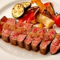 料理メニュー写真仙台牛のステーキ ~葉わさびorオニオンソース~