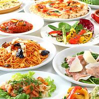 太陽の恵みたっぷりの新鮮野菜を使用した料理の数々!