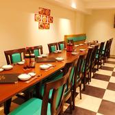 2階のテーブル席は人数に合わせてアレンジ可能!仕切りを使いので個室感覚でご利用頂けます。