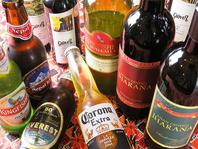 日本酒・インドワインも各種取り揃えております!
