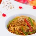 料理メニュー写真中華風春雨の炒め