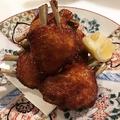 料理メニュー写真鶏の手羽先唐揚げ 2種の醤油仕込み 一本