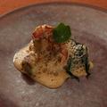 料理メニュー写真オマール海老のポワレ ナンチュアソース
