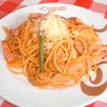 料理メニュー写真スパゲッティーナポリタン