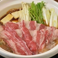 料理メニュー写真国産牛すき焼き