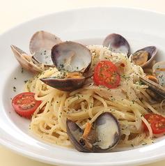 料理メニュー写真あさりとしらすのペペロンチーノ