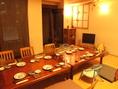 お子様連れのお客様歓迎!各種設備~安心してご利用頂ける個室をご用意しております。お子様用の椅子やお食事メニューもございます。