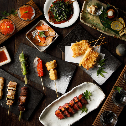 日本橋の料亭で15年間腕を奮った料理長が満を持して送る鶏専門店!