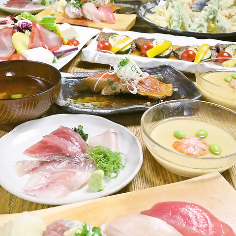湘南の地魚、神奈川の地野菜や地酒を日々提供する地産地消の海鮮居酒屋