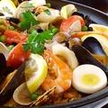 料理メニュー写真海鮮パエリア