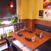 《デートに》2~4名様のテーブル席!組み合わせ次第で14名様までOK★  個室/肉バル/飲み放題/難波/鍋/記念日