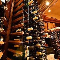 毎日10種類以上の豊富なグラスワインと、250種のボトル