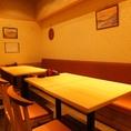 小宴会にはこちらの個室。最大16名様まで。