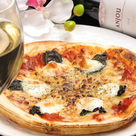 当店自慢イタリア産チーズ使用のマルゲリータ780円☆
