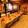[2F]最大30名様まで!広々空間でおいしい料理とおいしいお酒を 焼肉/個室/焼酎/貸切 船橋/飲み放題/居酒屋