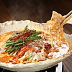 料理メニュー写真豚キムチーズ鍋