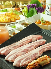KOREAN DINING ミリネのコース写真