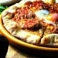 料理メニュー写真テリヤキチキンピッツァ