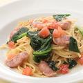料理メニュー写真≪Cream Base≫ソーセージとほうれん草のクリームスパゲッティ