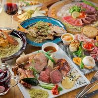 飲み放題のコース料理にも手抜きなし!肉とワインを堪能