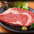 料理メニュー写真網焼きステーキ