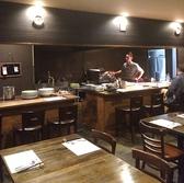 オープンキッチンで厳選された食材を、より美味しく提供いたします。オススメ鉄板焼コースは3500円~ご用意しております◎