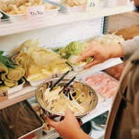 麻辣湯(マーラータン) の食材は好きなものを好きなだけ