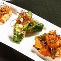 料理メニュー写真白菜キムチ/オイキムチ/カクテキ
