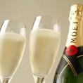 誕生日や結婚記念、還暦のお祝いを彩る、厳選ワインやスパークリングワイン、シャンパン等豊富にご用意ございます。