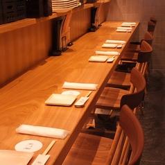 カウンターはデート利用にも◎ お一人様のお食事にもご利用いただけますので、お出かけやお仕事からのおかえりにサク飯を羅豚でいかがでしょうか。