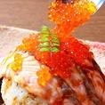 大人気のサーモン炙り寿司!リピーター率No.1