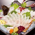 料理メニュー写真平目を釣る!食べる!(活き造り/煮付け/唐揚げ/バター焼き/フライ)