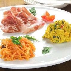 料理メニュー写真前菜のおまかせ3種盛り