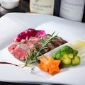 料理メニュー写真黒毛和牛イチボのステーキ