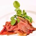 料理メニュー写真極み!播州牛もも肉のビフテキ