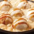 料理メニュー写真チーズを泳ぐタコ焼き