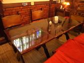 4~5名用テーブル席